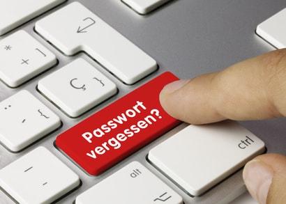 Passwort vergesen